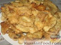 Фото к рецепту: Сыроежки в кляре