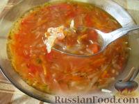 Фото к рецепту: Красный борщ постный