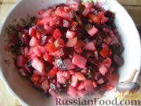 Фото к рецепту: Винегрет постный