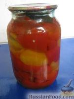 Фото к рецепту: Болгарский перец в меду
