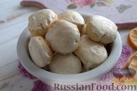 Фото к рецепту: Творожно-мятные пряники