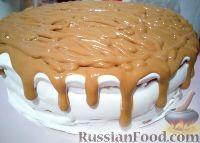 Фото к рецепту: Карамельный торт