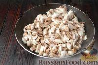 Фото приготовления рецепта: Жюльен из курицы с грибами - шаг №4
