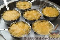 Фото приготовления рецепта: Жюльен из курицы с грибами - шаг №13