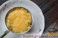 Фото приготовления рецепта: Жюльен из курицы с грибами - шаг №14