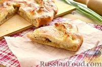 Фото к рецепту: Пирог с молодой капустой
