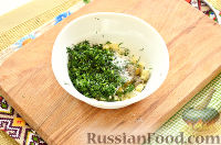 Фото приготовления рецепта: Окрошка с крабовыми палочками - шаг №7