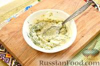 Фото приготовления рецепта: Окрошка с крабовыми палочками - шаг №9