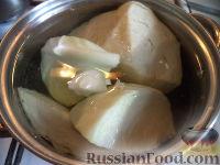 Фото приготовления рецепта: Котлеты из капусты - шаг №3