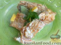 Фото к рецепту: Тушеный морской окунь