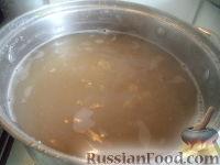 Фото приготовления рецепта: Суп из гороха с рисом - шаг №3