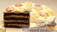 """Фото к рецепту: Шоколадный торт """"Поляна"""""""