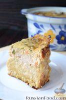Фото к рецепту: Запеканка из макарон с курицей