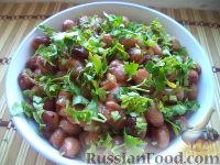 Фото к рецепту: Фасоль по-корейски