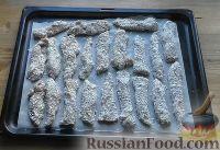 Фото приготовления рецепта: Наггетсы из индейки - шаг №6