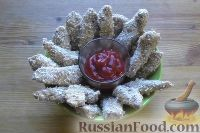 Фото приготовления рецепта: Наггетсы из индейки - шаг №7