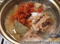 Щи из свежей капусты с тушенкой рецепт с фото пошагово
