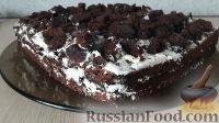 Фото к рецепту: Шоколадный бисквит на основе кислого молока