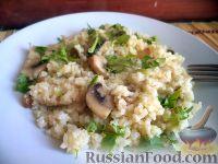 Фото к рецепту: Булгур с грибами