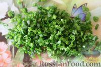 Фото приготовления рецепта: Салат из кальмаров, с огурцами и яблоками - шаг №14