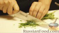 Фото приготовления рецепта: Омлет с шампиньонами - шаг №3