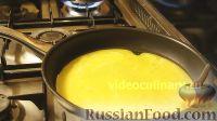 Фото приготовления рецепта: Омлет с шампиньонами - шаг №9