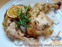 Фото к рецепту: Запеченные куриные окорочка