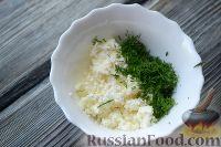 Фото приготовления рецепта: Канапе с семгой и сыром - шаг №2