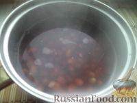 Фото приготовления рецепта: Салат из фасоли с соленым огурцом - шаг №3