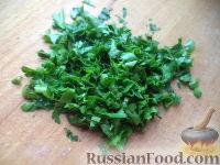 Фото приготовления рецепта: Салат из фасоли с соленым огурцом - шаг №12