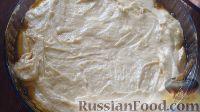 Фото приготовления рецепта: Перевернутый яблочный пирог - шаг №10