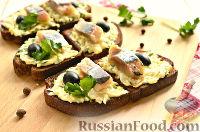 Фото к рецепту: Бутерброды с селедкой