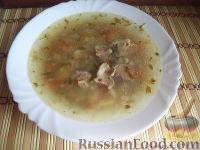 Фото к рецепту: Суп из свинины с фасолью