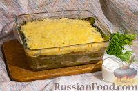 Фото к рецепту: Капустная лазанья