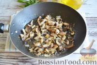 Фото приготовления рецепта: Свиные рулетики с грибами - шаг №10