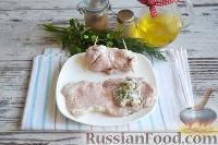 Фото приготовления рецепта: Свиные рулетики с грибами - шаг №14