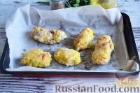 Фото приготовления рецепта: Свиные рулетики с грибами - шаг №17