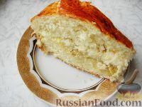 Фото к рецепту: Пирог с капустой (из дрожжевого теста)