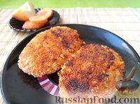 Фото к рецепту: Постные котлеты из моркови и яблок