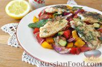 Фото к рецепту: Салат с белой рыбой