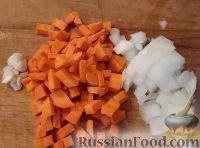 Фото приготовления рецепта: Треска, запеченная с картофелем и овощами - шаг №5