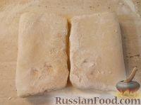Фото приготовления рецепта: Рогалики из слоено-дрожжевого теста - шаг №7