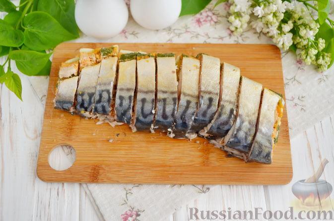 Рецепт скумбрия фаршированная с желатином