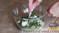 Фото приготовления рецепта: Бездрожжевые лепешки с творогом - шаг №3