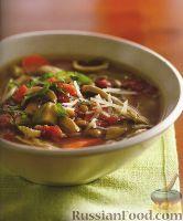 Фото к рецепту: Суп с курицей и чечевицей