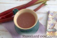 Фото к рецепту: Кисель из ревеня