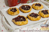Фото приготовления рецепта: Тарталетки с черешней - шаг №14