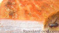 Фото к рецепту: Свиной подчеревок, запеченный в духовке