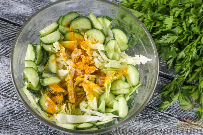 Огурцы по-корейски пошаговый рецепт 12