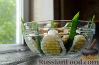 Фото к рецепту: Салат с шампиньонами и ветчиной